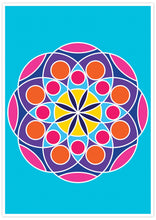 Load image into Gallery viewer, Mandala 2 Pink Mandala Art Print not in a frame