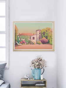 Marlotte Regure Chateau Art Print