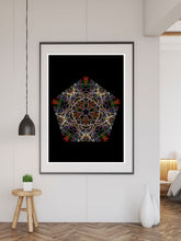 Load image into Gallery viewer, Millennium Pattern Print large print on a wall
