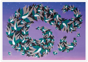 Muramations Bird Artwork Print no frame