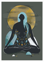 Load image into Gallery viewer, My Body Is a Temple Illustration Print