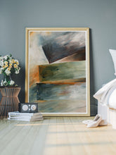 Load image into Gallery viewer, Naito Abstract Wall Art in a bedroom