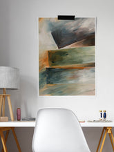 Load image into Gallery viewer, Naito Abstract Wall Art in a desk area