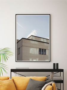 New Islington Manchester Print In a Modern Room
