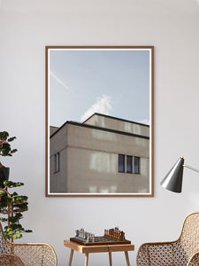 New Islington Manchester Print In a Traditional Room