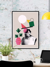 Load image into Gallery viewer, Nogi 3 Contemporary Art Print on a wall
