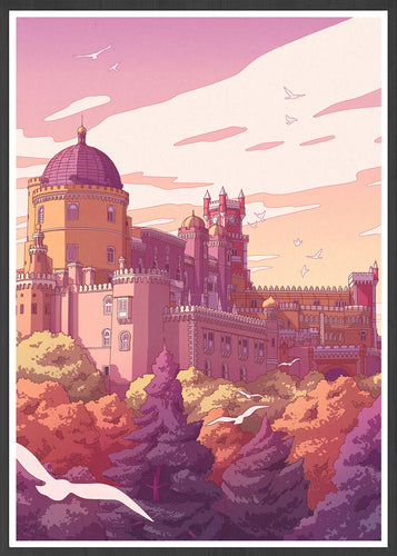 Pena Palace Portugal Travel Art Print