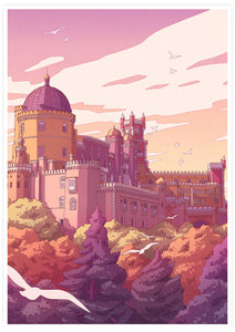 Pena Palace Portugal Travel Wall Art