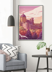 Pena Palace Portugal Travel Print