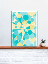 Load image into Gallery viewer, Palladium 4 Abstract Art Print on a Shelf