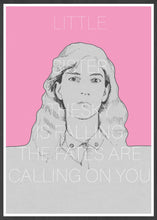 Load image into Gallery viewer, Patti Smith Contemporary Art Print in frame