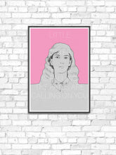 Load image into Gallery viewer, Patti Smith Contemporary Art Print in a frame on a wall