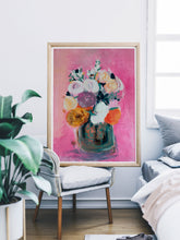 Load image into Gallery viewer, Pink Floral Bouquet home decor