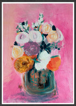 Load image into Gallery viewer, Pink Floral Bouquet Print