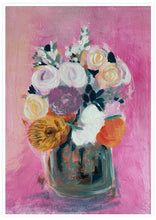 Load image into Gallery viewer, Pink Floral Bouquet Wall Art