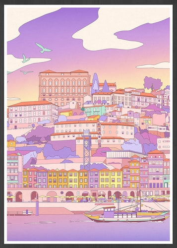 Ribeira Illustration Art