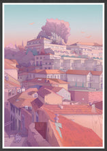 Load image into Gallery viewer, Porto Alley 1 Landscape Art Print