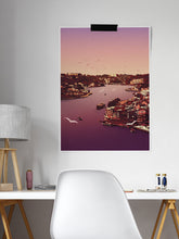 Load image into Gallery viewer, Arrabida Brown Porto City Art Poster