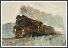 Load image into Gallery viewer, Railroad Blues Fine Art Print in a frame
