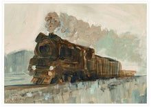 Load image into Gallery viewer, Railroad Blues Fine Art Print