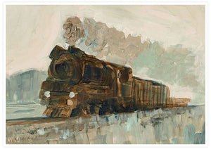 Railroad Blues Fine Art Print