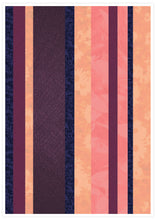 Load image into Gallery viewer, Retro Stripes Stripe Pattern Art Print not in a frame