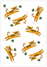 Load image into Gallery viewer, Roar Tiger Illustration Print not in a frame