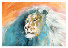 Load image into Gallery viewer, Roar Lion Painting Print