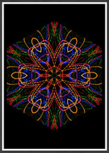Load image into Gallery viewer, Sacred Heart Mandala Print not in a frame