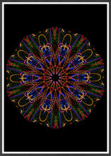 Load image into Gallery viewer, Sacred Mind Mandala Print not in a frame