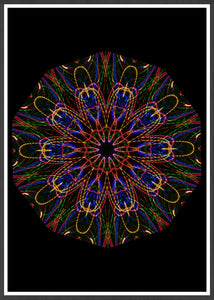 Sacred Mind Mandala Print not in a frame
