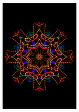 Load image into Gallery viewer, Sacred View Mandala Print not in a frame