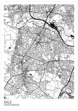 Load image into Gallery viewer, Sale Trafford Map Print