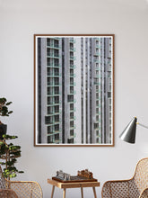 Load image into Gallery viewer, Lightbox City Building Print In a Traditional Room