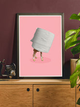Load image into Gallery viewer, Self Isolation Funny Art Poster