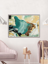 Load image into Gallery viewer, Shout Macro Oil Wall Art in a bedroom