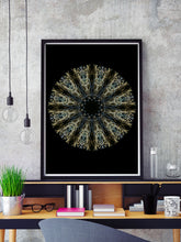 Load image into Gallery viewer, Shrike Pattern Print in a frame on a wall