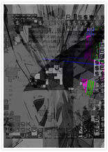 Load image into Gallery viewer, Shut Down Digital Abstract Art Print no frame