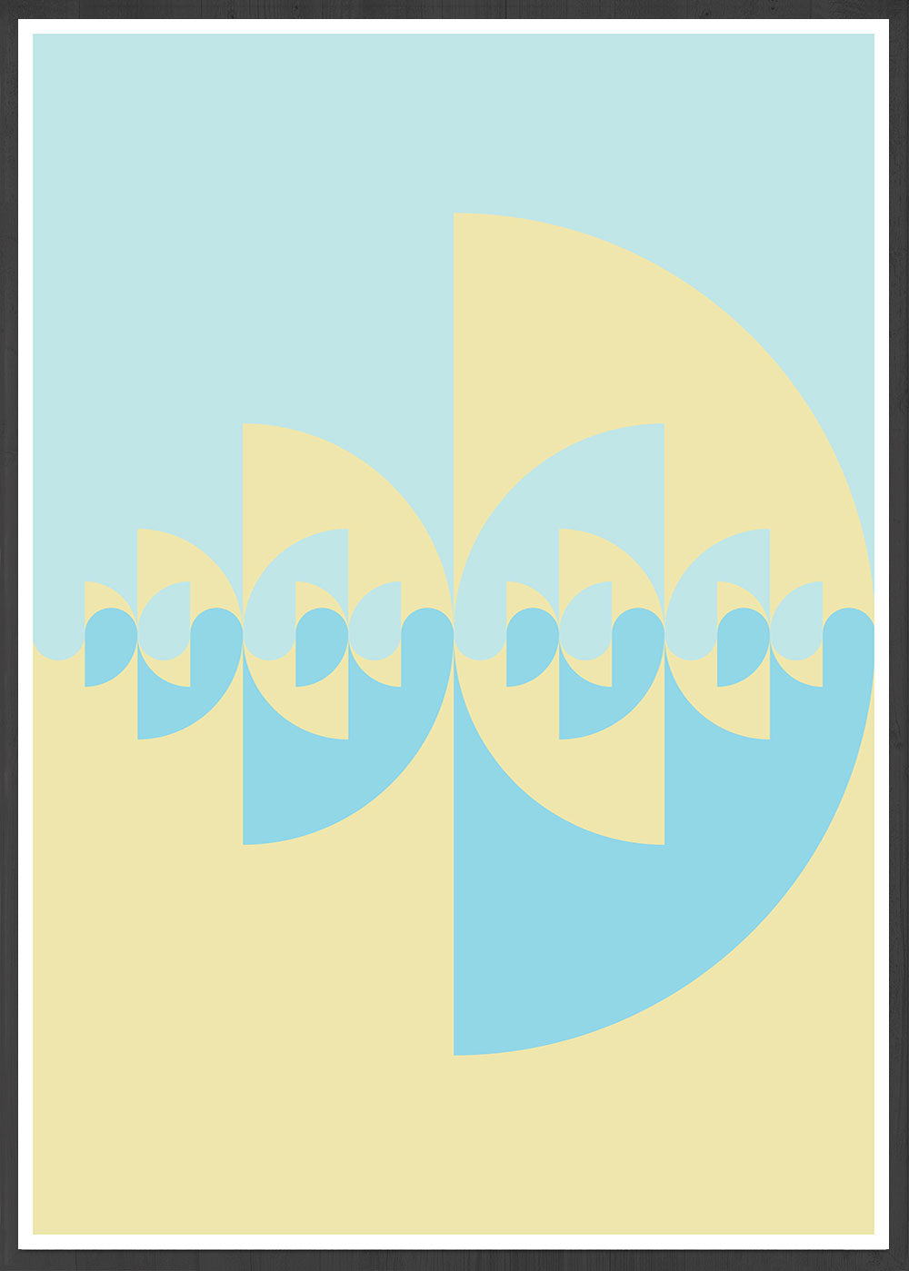 Sigil Day Digital Art Pattern in frame