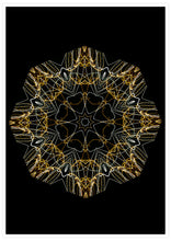 Load image into Gallery viewer, Space Odyssey Mandala Print not in a frame