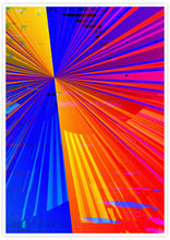 Load image into Gallery viewer, Spectre Colourful Abstract Art Print no frame