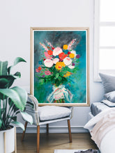 Load image into Gallery viewer, Spring Bouquet Poster Art
