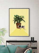 Load image into Gallery viewer, Stay Home Cow Poster