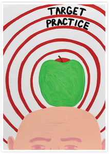 Target Practice Quirky Artist Print not in a frame