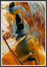Load image into Gallery viewer, The Play Abstract Art Print in a frame