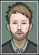 Load image into Gallery viewer, Thom Radiohead Art illustration in frame