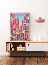 Load image into Gallery viewer, Shinjuku District Tokyo Art Print