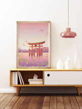 Load image into Gallery viewer, Itsukushima Shrine Torii Gate Print