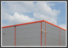 Load image into Gallery viewer, Trafford Industrial Park Building Wall Art In a Frame
