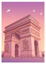 Load image into Gallery viewer, Arc de Triomphe Poster Art Print